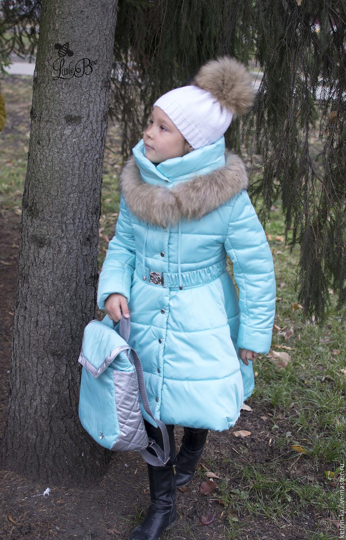 Купить зимнее пальто для девочки