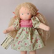 Куклы и игрушки ручной работы. Ярмарка Мастеров - ручная работа Вальдорфская кукла, Мятная конфетка 34 см. Handmade.