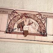 Открытки ручной работы. Ярмарка Мастеров - ручная работа Подарочный конверт. Авторский дизайн. Handmade.