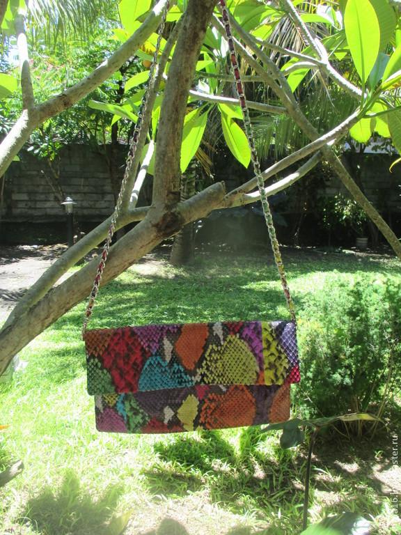 bbd04801bfc2 Женские сумки ручной работы. Ярмарка Мастеров - ручная работа. Купить Клатч  Janet мультиколор.