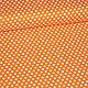 """Шитье ручной работы. Ярмарка Мастеров - ручная работа. Купить Хлопок """"Горошки"""" (оранжевый фон). Handmade. Оранжевый, хлопок для пэчворка"""