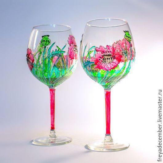 Бокалы для красного вина `Маки`.