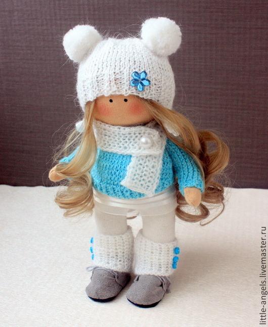 Куклы тыквоголовки ручной работы. Ярмарка Мастеров - ручная работа. Купить Интерьерная текстильная кукла подарок. Handmade. подарок девушке