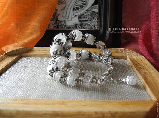 Часы ручной работы. Ярмарка Мастеров - ручная работа. Купить Часы женские на руку Аляска, наручные часы, часы браслет. Handmade.