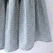 Одежда ручной работы. Ярмарка Мастеров - ручная работа Юбка в мелкий цветочек (в наличии 46-52). Handmade.