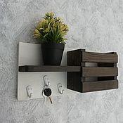 Для дома и интерьера handmade. Livemaster - original item The housekeeper is a wall of wood. Handmade.