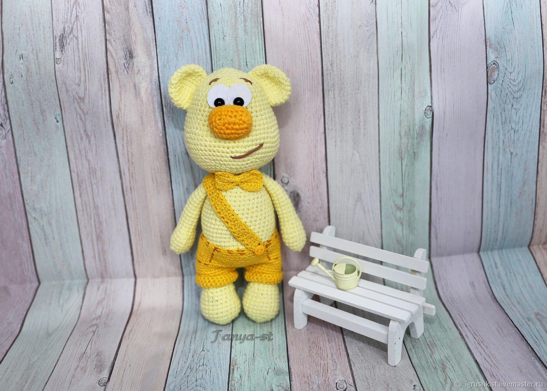 Мишка Стёпа, Мягкие игрушки, Владивосток,  Фото №1