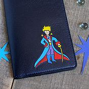 Обложки ручной работы. Ярмарка Мастеров - ручная работа Обложка на паспорт «Маленький принц», обложка для документов. Handmade.
