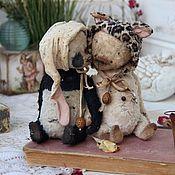 Куклы и игрушки ручной работы. Ярмарка Мастеров - ручная работа Мяфка. Handmade.