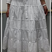 """Одежда ручной работы. Ярмарка Мастеров - ручная работа Юбка  с  подъюбником """"Соблазн"""". Handmade."""