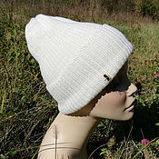 Аксессуары handmade. Livemaster - original item Knitted hat, beanie, hat, pumpkin, stocking cap. Handmade.