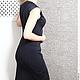 Платья ручной работы. Платье SIRINETTA black. Strygina (Strygina). Ярмарка Мастеров. Шитье, офисная одежда, шитое платье, 4%эластан