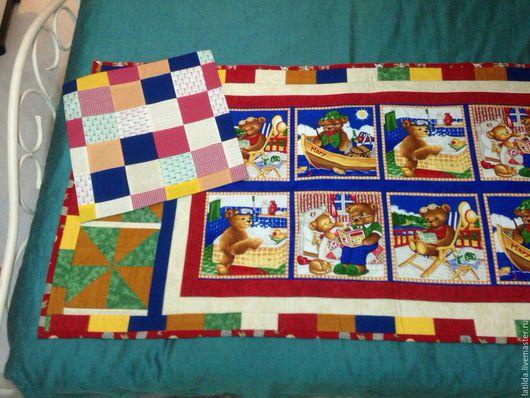 Пледы и одеяла ручной работы. Ярмарка Мастеров - ручная работа. Купить Покрывало для детской кровати. Handmade. Ярко-красный