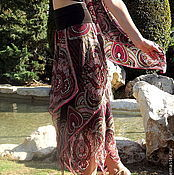 Одежда ручной работы. Ярмарка Мастеров - ручная работа Юбка в восточном стиле Лотос. Handmade.