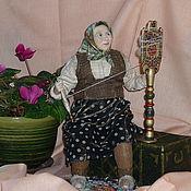 """Куклы и игрушки ручной работы. Ярмарка Мастеров - ручная работа Авторская кукла """"Золотая пряха"""" - полимерная глина. Handmade."""