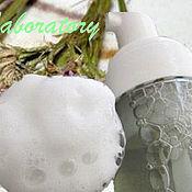 Пенки ручной работы. Ярмарка Мастеров - ручная работа Пена: Пенка-мусс для умывания с экстрактом Амаранта. Handmade.