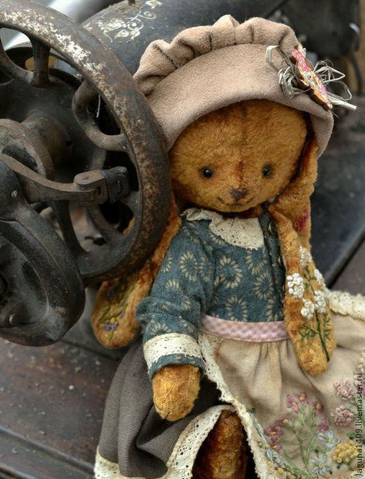 """Мишки Тедди ручной работы. Ярмарка Мастеров - ручная работа. Купить Плюшевая зайка """"Стася"""". Handmade. Разноцветный, зайка"""