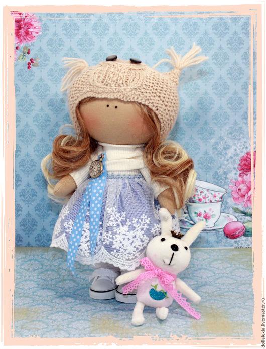 Коллекционные куклы ручной работы. Ярмарка Мастеров - ручная работа. Купить Кукла Стрелочка интерьерная игровая текстильная тыквоголовка. Handmade.