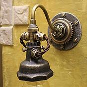 Для дома и интерьера handmade. Livemaster - original item Sconces in the style of steampunk. Handmade.