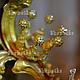 Детская бижутерия ручной работы. Ярмарка Мастеров - ручная работа. Купить Корона для принцессы из проволоки Царевна. Handmade. Золотой