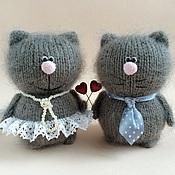 Куклы и игрушки ручной работы. Ярмарка Мастеров - ручная работа Влюблённая парочка Гриша и Варварочка. Handmade.
