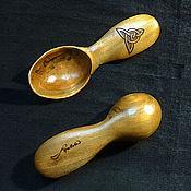 Посуда ручной работы. Ярмарка Мастеров - ручная работа Походная ложка с кельтским лабиринтом. Handmade.