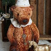 Куклы и игрушки ручной работы. Ярмарка Мастеров - ручная работа Медведь плюшевый коллекционный. Handmade.