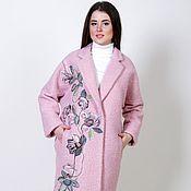 Одежда ручной работы. Ярмарка Мастеров - ручная работа Пальто оверсайз Розовое облако. Handmade.