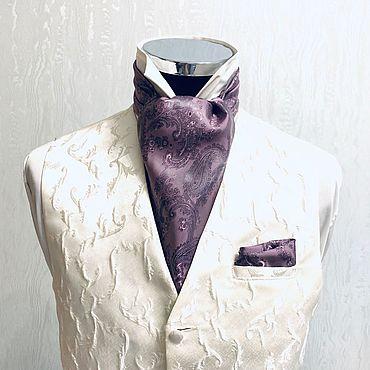 Аксессуары ручной работы. Ярмарка Мастеров - ручная работа Шейный платок Аскот (галстук) Falio. Handmade.