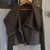 """Одежда ручной работы. Ярмарка Мастеров - ручная работа Жакет """"узорчатая осень"""". Handmade."""