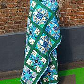 """Для дома и интерьера ручной работы. Ярмарка Мастеров - ручная работа Лоскутное покрывало """"Апрель"""". Handmade."""