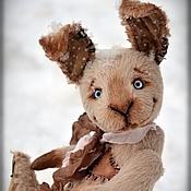 Куклы и игрушки handmade. Livemaster - original item Darn, the author`s Bunny Teddy(19cm). Handmade.