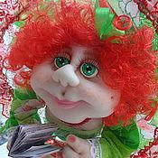 Куклы и игрушки ручной работы. Ярмарка Мастеров - ручная работа Анжелика - кукла на удачу и богатство. Handmade.