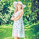 Платья ручной работы. Ярмарка Мастеров - ручная работа. Купить Платье из батиста FLEUR. Handmade. Летнее платье, сарафаны для беременных