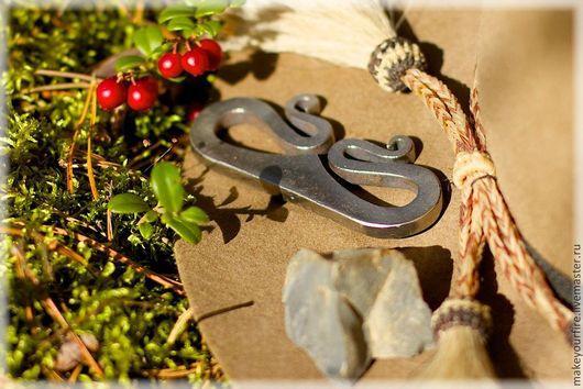 Новый год 2017 ручной работы. Ярмарка Мастеров - ручная работа. Купить Кованое огниво №6 (копия финского кресала). Handmade.