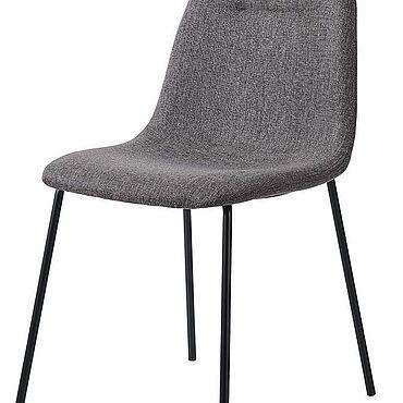 Мебель ручной работы. Ярмарка Мастеров - ручная работа Стул Oslo синий/бежевый/серый. Handmade.