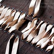 """Одежда ручной работы. Ярмарка Мастеров - ручная работа Корсет """"Chocolate"""". Handmade."""