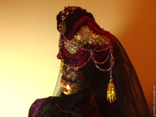 Кукла Венецианский карнавал автор Катюша Николенко
