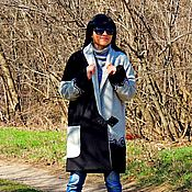 Одежда ручной работы. Ярмарка Мастеров - ручная работа Пальто демисезонное из натуральной шерсти (№268). Handmade.