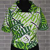 Одежда handmade. Livemaster - original item Jacket women`s cotton summer. Handmade.