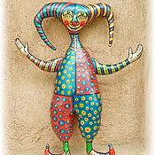 Мягкие игрушки ручной работы. Ярмарка Мастеров - ручная работа Мягкие игрушки: Шут Шико. Handmade.