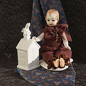 Куклы и игрушки handmade. Livemaster - original item Antique collectible porcelain doll - Antique Bisque Doll. Handmade.