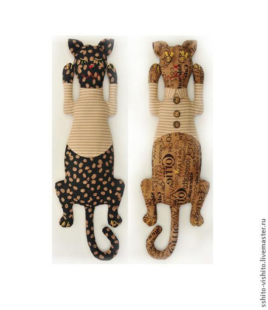 Куклы и игрушки ручной работы. Ярмарка Мастеров - ручная работа. Купить Набор для шитья Кот День-Ночь (Двуличный). Handmade.