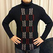 Одежда ручной работы. Ярмарка Мастеров - ручная работа Свитер вязанный спицами. Handmade.