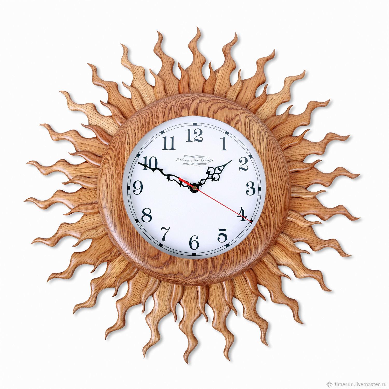 """Большие настенные часы """"Солнце"""", Часы классические, Новочеркасск,  Фото №1"""
