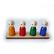 """Куклы и игрушки handmade. Livemaster - original item Сортер """"Человечки"""" 4. Handmade."""