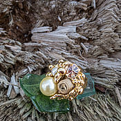 Винтаж handmade. Livemaster - original item Cocktail ring. Vintage.. Handmade.