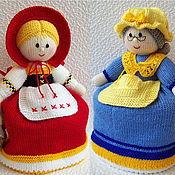 """Мягкие игрушки ручной работы. Ярмарка Мастеров - ручная работа """"Красная Шапочка-Бабушка"""" кукла перевертыш. Handmade."""