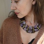 Украшения handmade. Livemaster - original item Bib Necklace