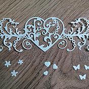 Материалы для творчества handmade. Livemaster - original item Cutting scrapbooking Royal Love. Handmade.